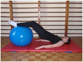 ćwiczenia na piłce physioball