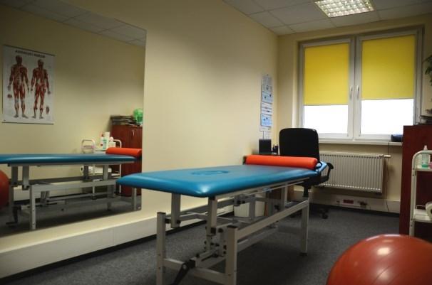 gabinet fizjoterapeutyczny w miejscu pracy - Care Solutions
